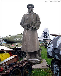 """DEMOTED DICTATOR"", Zruc, Czech Republic."