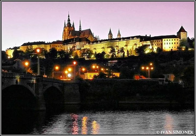 """MAGIC HOUR"",Prague Castle,Prague,Czech Republic."