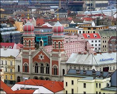 """""""BIG SYNAGOGUE"""", Pilsen, Czech Republic."""