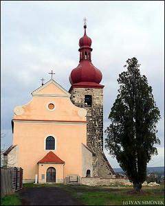 """""""VILLAGE CHURCH"""", Cerncice u Loun, Czech Republic."""
