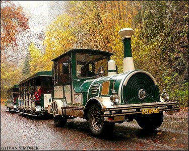 """TOURIST MOVER"", near Macocha gorge, Czech Republic."