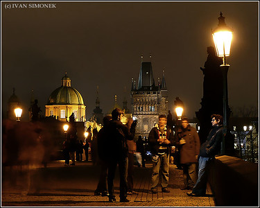 """CHARLES BRIDGE"", Prague, Czech Republic."
