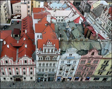 """A BIRD`S EYE VIEW', Pilsen, Czech Republic."