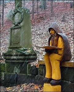 """AVID READER"",Czech Paradise area,Czech Republic."