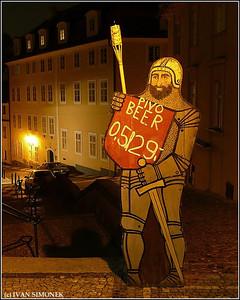 """""""BEER KNIGHT"""", Prague, Czech Republic."""