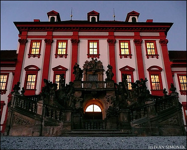"""MAIN ENTRANCE"", Troja Chateau, Prague, Czech Republic."