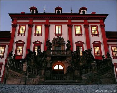 """MAIN ENTRANCE"", Troja Chateau, Prague, Czech Republic."