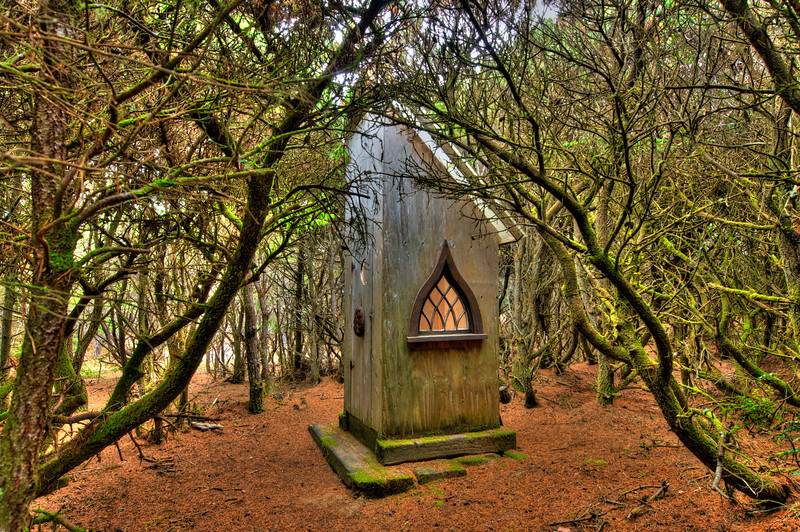 One Artsy Outhouse