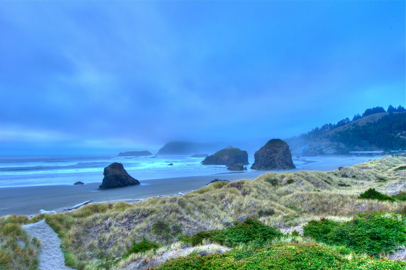Beach at Pistol River, Oregon
