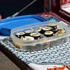 Sushi breakfast provided by Beth