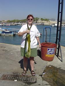 Wendy's Dorado, caught on a Ponga boat