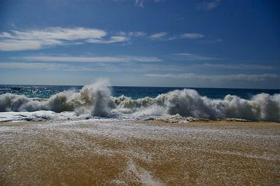 Pacific Ocean beach at Playa Grande resort