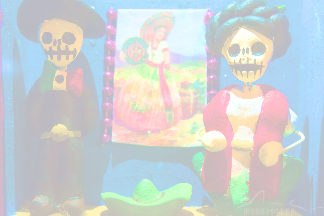 Día de Muertos Artwork (Used for Background Photo)