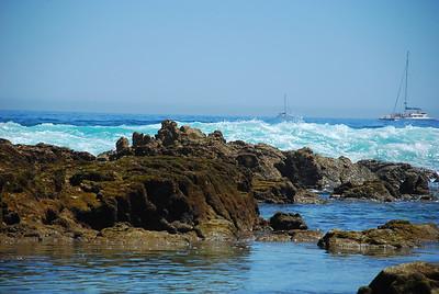 Shoreline lagoon at Fiesta Americana Hotel and Resort, Cabo San Lucas Mexico