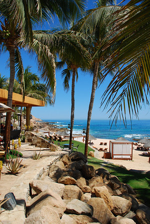 Lunch at Fiesta Americana Hotel and Resort, Cabo San Lucas Mexico