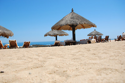 Beach at Fiesta Americana Hotel and Resort, Cabo San Lucas Mexico