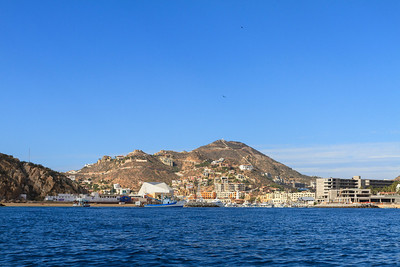 Cabo San Lucas from the Sea
