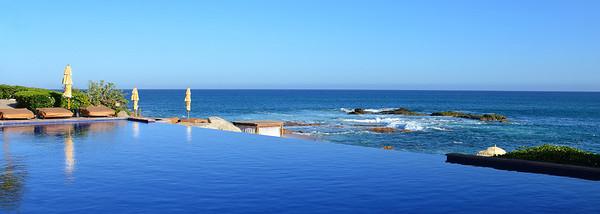 Infinity pool at Esperanza Mexico.
