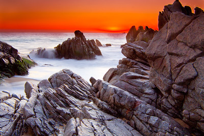 Glowing Sunset Cabo beach