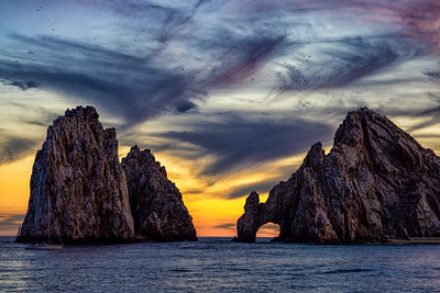 Cabo Arch Sunset