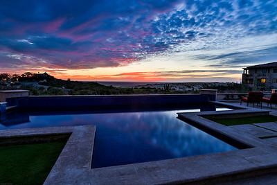 Villa 16 sunset