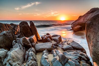 Golden sunset Diamante