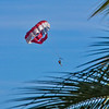 Parasailing was a very popular activity.