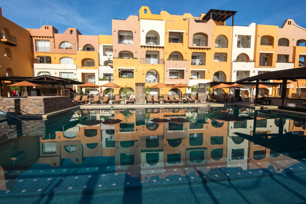 Pool at Wyndham Cabo San Lucas Resort - January 2015