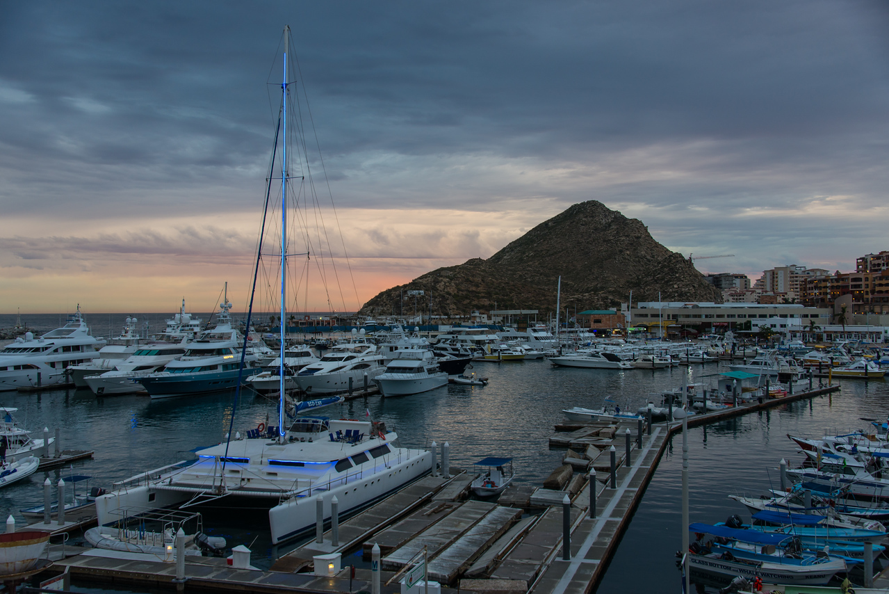 Morning view from my balcony at Wyndham Cabo San Lucas Resort - January 2015