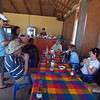 Having lunch with the folks from Amigos para la Conservation de Cabo Pulmo
