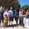 Lillie and Jay with the people from Amigos para la Conservation de Cabo Pulmo .