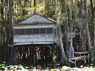 Dick & Charlie's Tea Room - Historical Caddo Lake Building