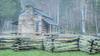 John Oliver's Cabin, Cades Cove, GSMNP; 9x16