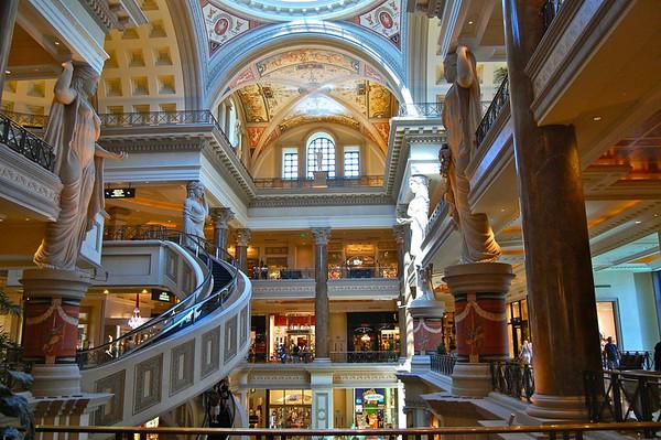 Caesars Palace and Forum Shops, Las Vegas