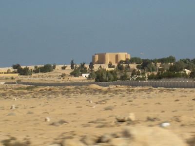The German memorial at El Alamein.