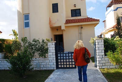 One of the villas we looked at near El Alamein.