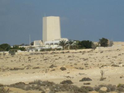 The Italian memorial at El Alamein in Egypt.