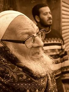 Man in the Khan el-Khalili Market.