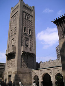 Tower in Manyel Palace