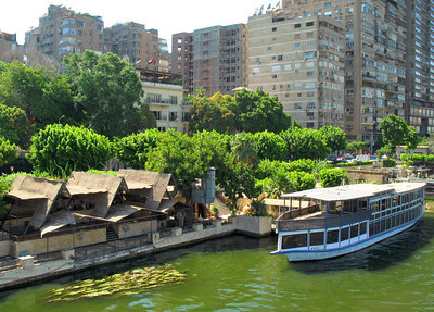 Cairo river Nile view