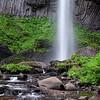 Latourell Falls, Columbia River Gorge, Oregon
