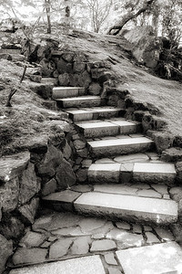 Steps of Amon Hen, breaking of the Fellowship - Japanese Garden, Portland