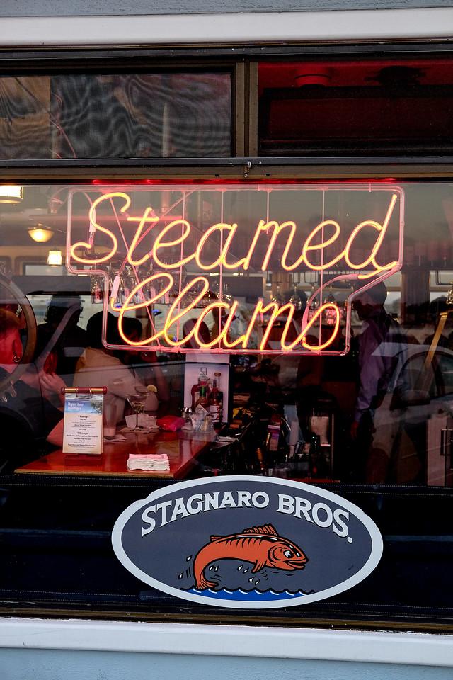 Stagnaro Bros restaurant, Santa Cruz