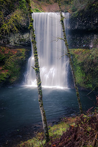 Lower South Falls, Silver Falls Trail