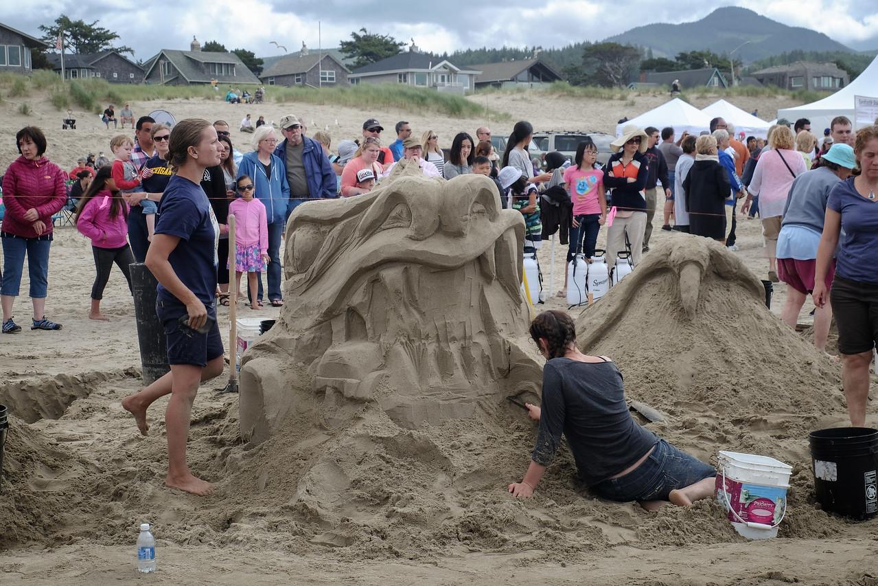 Sandcastle Festival, Cannon Beach, Oregon - June 11, 2016