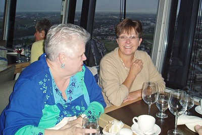 Dinner at Calgary Tower