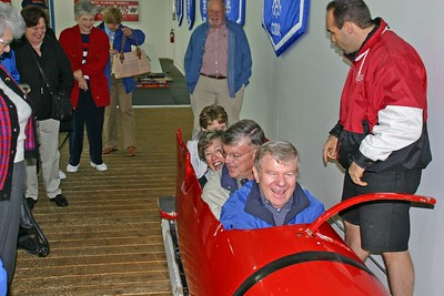 Our Bobsled Team in Training