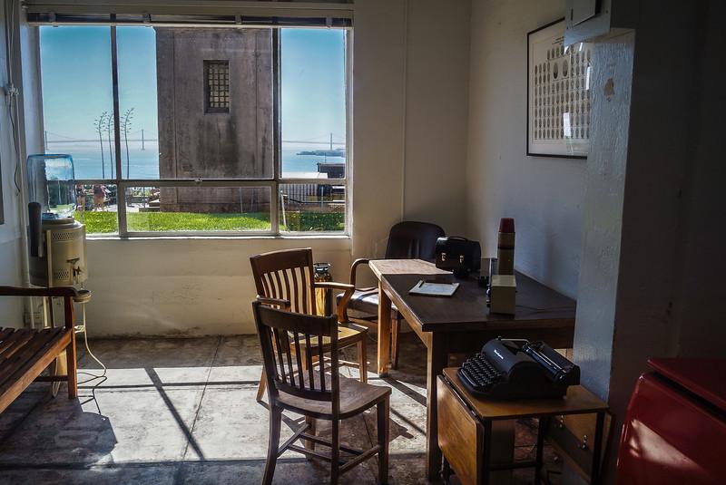 Guards Office on Alcatraz