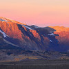 First Dawn in hills above Mono Lake