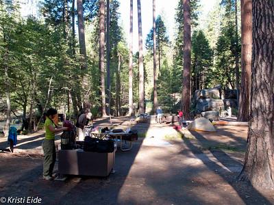 Yosemite Nat'l Park, backpacking photos